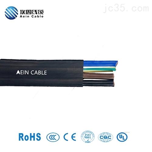 橡胶扁电缆价格NGFLGOEU耐候普睿司曼替代线
