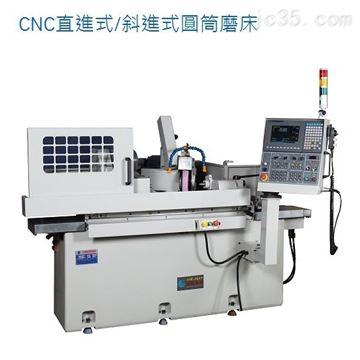CNC直進式斜進式圓筒磨床