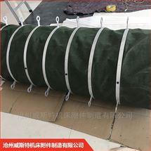 生产库散装机水泥伸缩帆布袋
