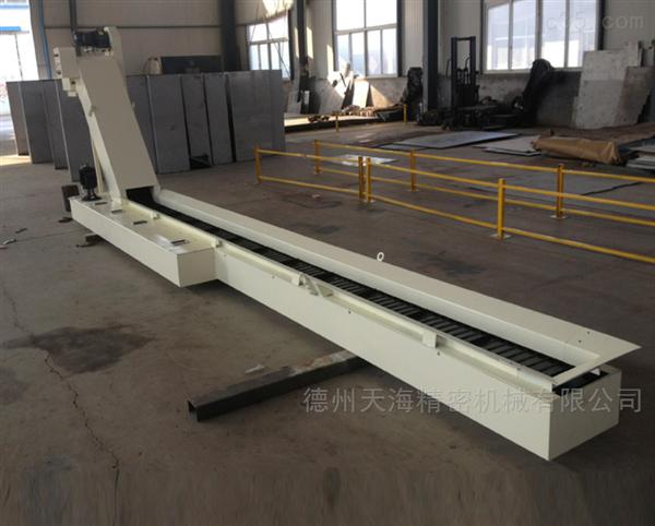机床工厂加工中心链板式排屑机