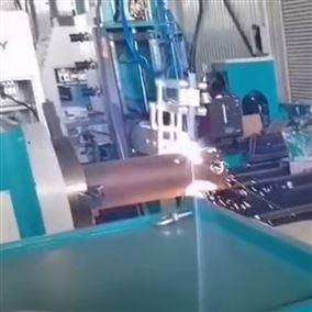 数控式相贯线切割机 钢结构圆管快速切割