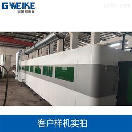 1万瓦激光切割机切割铝板LF12025GH