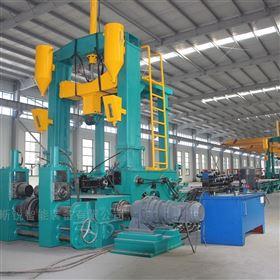 KR-PHJ 0818H型钢拼焊矫一体机 焊接矫正效率高