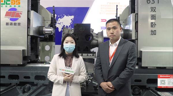 南京新浙数控携高效率、高精度的双面卧加产品亮相CIMT2021