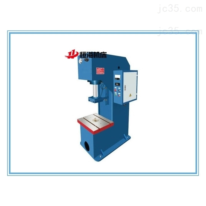 100吨单柱液压机
