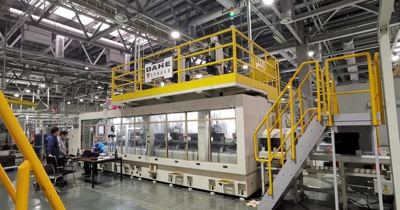 大河生產的汽車發動機缸體數控珩磨加工生產線